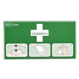 CEDERROTH Erste-Hilfe-Schutzpaket, 3-teilig