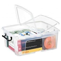 CEP Aufbewahrungsbox strata,  24 Liter, transparent