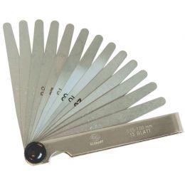 C.K Fühlerlehren 4 / 13 Blatt, 0,05 - 1,00 mm