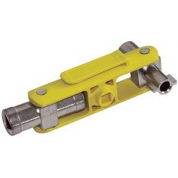 C.K Schaltschrank-Schlüssel, 6 in 1