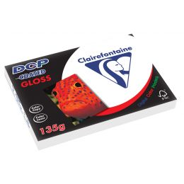 Clairalfa Laserdrucker-Papier DCP Coated Gloss, A4, 135 g/qm