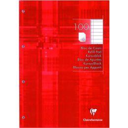 Clairefontaine Arbeitsblock, DIN A4, liniert, 100 Blatt