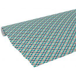 Clairefontaine Geschenkpapier Dreiecke, auf Rolle