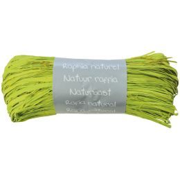 Clairefontaine Raffia-Naturbast, limonengrün