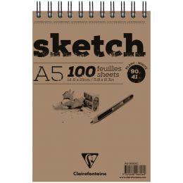 Clairefontaine Skizzenblock sketch, DIN A5, 100 Blatt