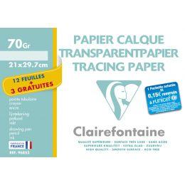 Clairefontaine Transparentpapier, DIN A4, Aktionspack