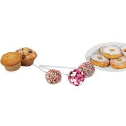 CLATRONIC Donut-, Muffin- & Cake Pop-Maker, lila