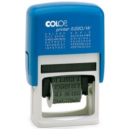 COLOP Wortbandstempel Printer S 220/W, blau