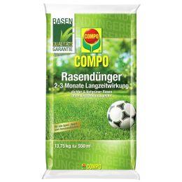 COMPO Rasendünger mit Langzeitwirkung, 13,75 kg für 550 qm