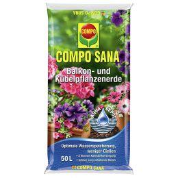 COMPO SANA Balkon- und Kübelpflanzenerde, 50 Liter