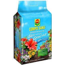 COMPO SANA Qualitäts-Blumenerde ca. 50% weniger Gewicht, 60l
