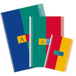 CONQUERANT SEPT Registerbuch - Doppelspirale, DIN A4