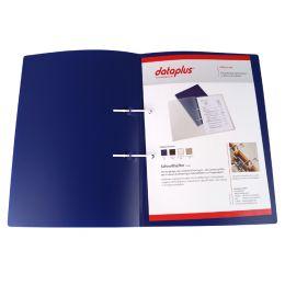 dataplus Schnellhefter, DIN A4, aus Kunststoff, blau
