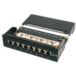 DIGITUS Desktop Patch Panel Kat.6, Klasse E, 8 x RJ45, 1HE