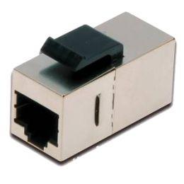 DIGITUS Modular Adapter Kat.5e, geschirmt, 2 x RJ45 Buchse
