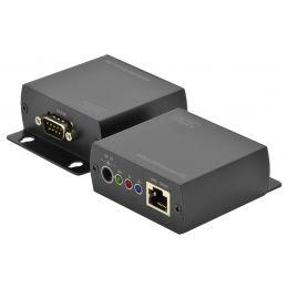 DIGITUS RS232 Extender-Set, Sende- und Empfangseinheit