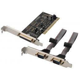 DIGITUS Seriell / Parallel 16C450/550 SPP/EPP/ECP PCI Karte