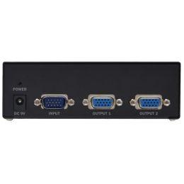 DIGITUS VGA Splitter 500 MHz, 2-fach, 75 m Reichweite