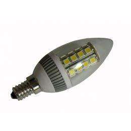 DIODOR LED-Lampe 26er SMD Kerze, 3,8 Watt, Sockel: E14
