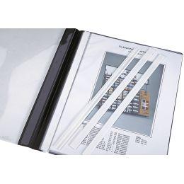 DURABLE Abdeckschienen, für DIN A4 Format, weiß