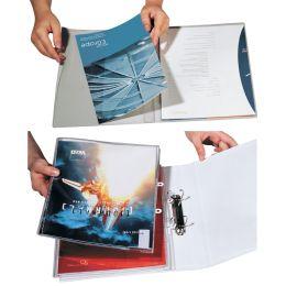 DURABLE Abheft-Sichthefter, DIN A4, glasklar, transparent