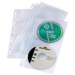 DURABLE CD-/DVD-Hülle COVER LIGHT S, für 4 CDs, PP