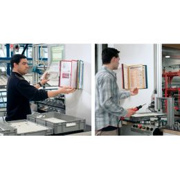 DURABLE Display-System VARIO wall 10, Komplett-Set