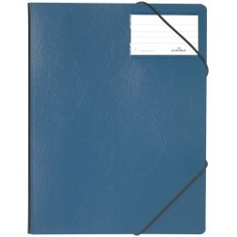 DURABLE Eckspanner Premium, DIN A4, Hartfolie, dunkelblau