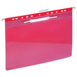 DURABLE Einhänge-Schnellhefter, DIN A4, rot