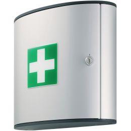 DURABLE FIRST AID BOX M, Design-Erste-Hilfe-Kasten, silber