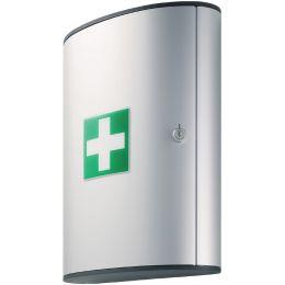 DURABLE FIRST AID SET L, Design-Erste-Hilfe-Kasten, silber