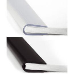 DURABLE Klemmschiene, DIN A4, Füllhöhe: 3 mm, schwarz
