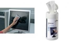 DURABLE Nachfüllpack Bildschirm-Reinigungstücher SCREENCLEAN