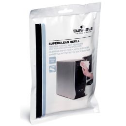 DURABLE Nachfüllpack Oberflächen-Reinigungstücher SUPERCLEAN