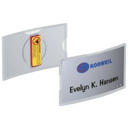 DURABLE Namensschilder KONVEX, mit Magnet, 75 x 40 mm