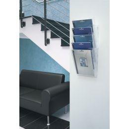 DURABLE Prospekthalter COMBIBOXX A4 set XL, transparent