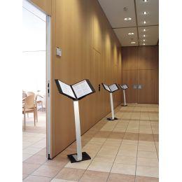 DURABLE Sichttafel-Bodenständer SHERPA STAND PRO 10
