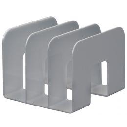 DURABLE Stehsammler TREND, Kunststoff, 3 Fächer, grau
