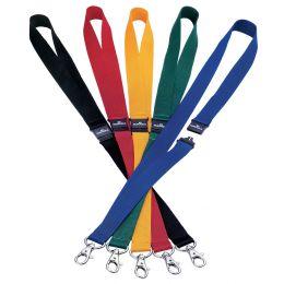 DURABLE Textilband 20, mit Sicherheitsverschluß, schwarz