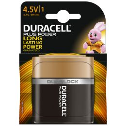 DURACELL Alkaline Batterie PLUS POWER, 4,5 V Flachblock