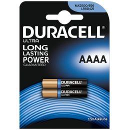 DURACELL Alkaline Batterie Ultra, Quart (AAAA/MN2500/LR61)