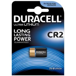 DURACELL Foto-Batterie ULTRA, Lithium, CR2, 2er Blister