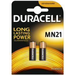 DURACELL Security Kleinzelle, Alkaline, MN21, 2er Blister