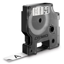DYMO D1 Schriftbandkassette schwarz/orange, 12 mm x 3 m