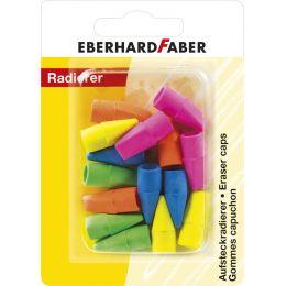 EBERHARD FABER Aufsteckradierer für Bleistifte, 15er Blister