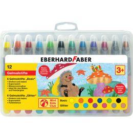 EBERHARD FABER Gelmalstift Basic & Metallic, 12er Etui