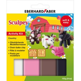 EBERHARD FABER Modellier-Set Sculpey Country