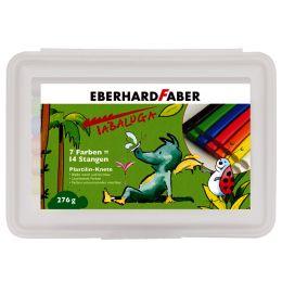EBERHARD FABER Plastilin-Knete Tabaluga, 14er Kunststoffetui