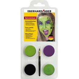 EBERHARD FABER Schminkfarben-Set Hexe, 4 Farben