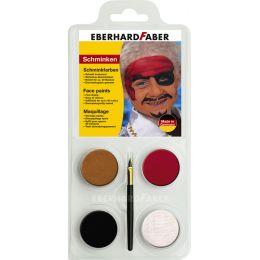 EBERHARD FABER Schminkfarben-Set Pirat, 4 Farben